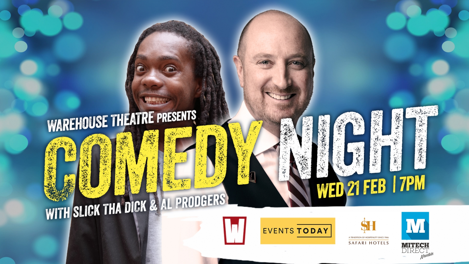 Comedy Night with Al Prodgers & Slick the Dick