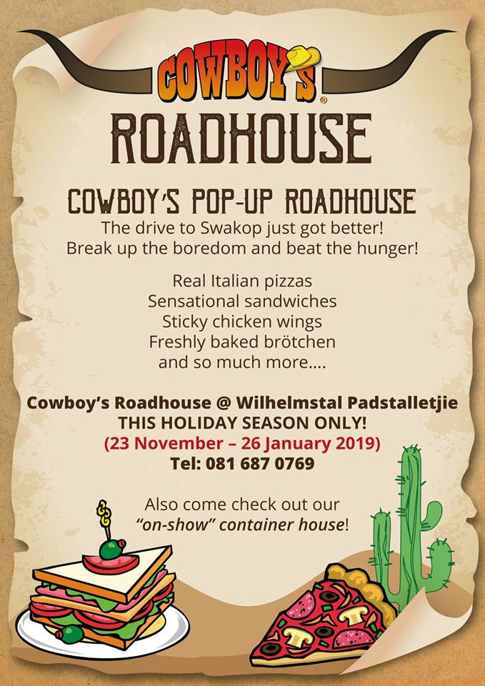 Cowboy's Pop-up Roadhouse