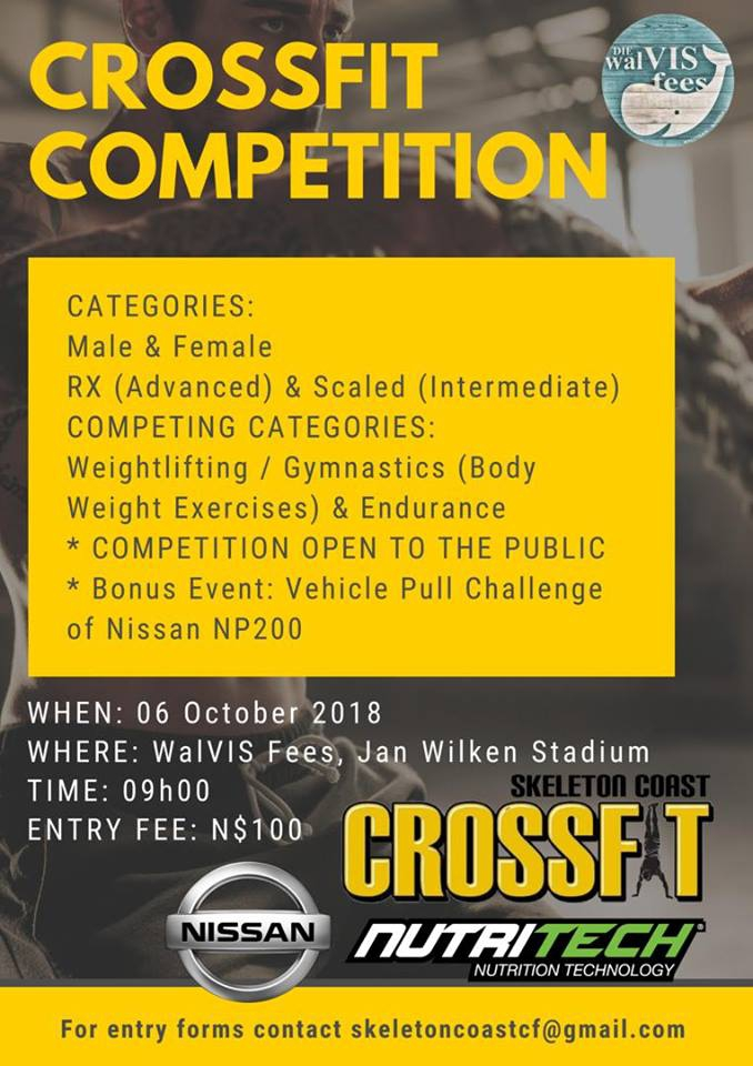 CrossFit Competition Walvis Bay