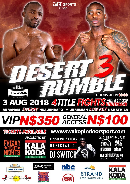 Desert Rumble 3