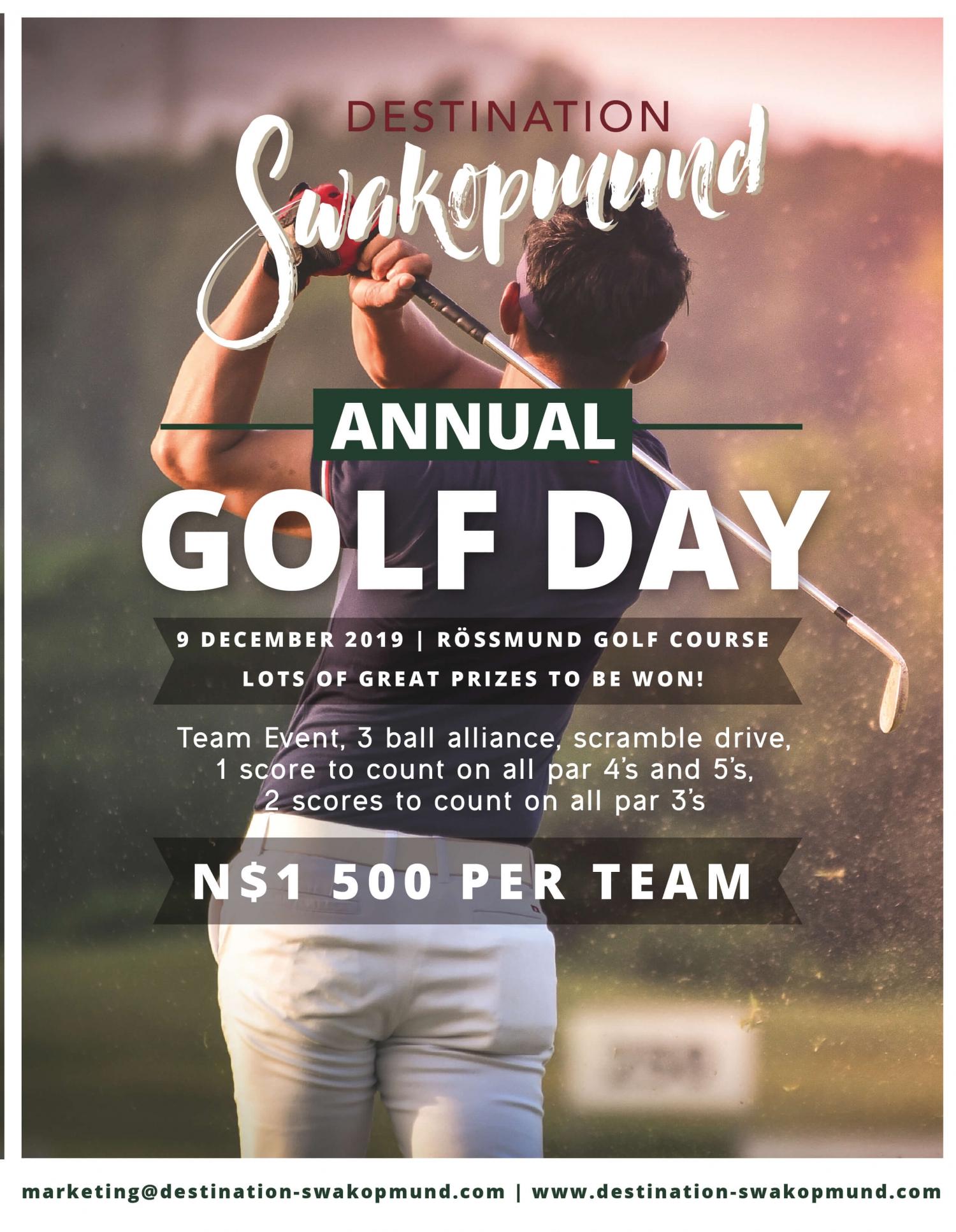 Destination Swakopmund Golf Day 2019