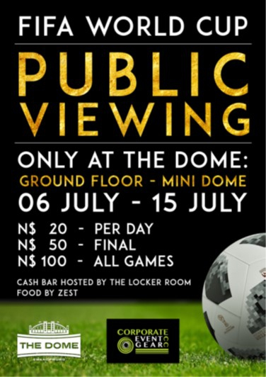 FIFA World Cup 2018 Public Viewing