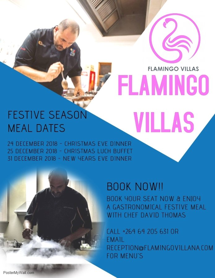 Flamingo Villas New Years Eve Dinner