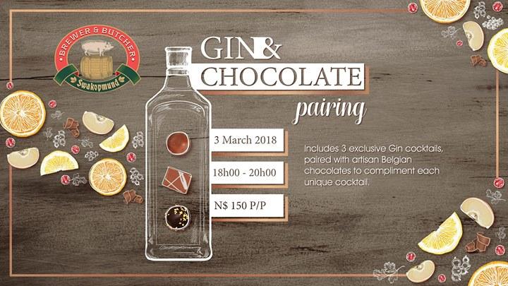 Gin & Chocolate Pairing