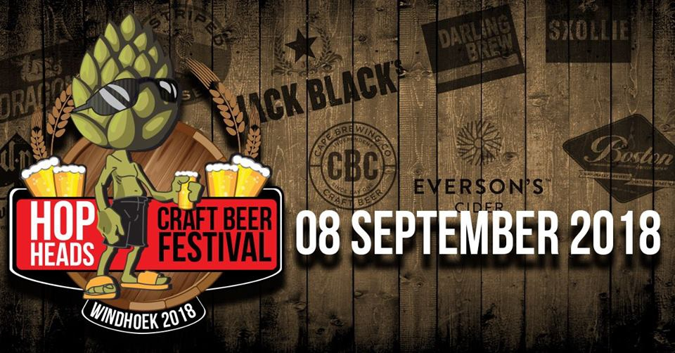 Hop Heads Craft Beer Festival Namibia 2018