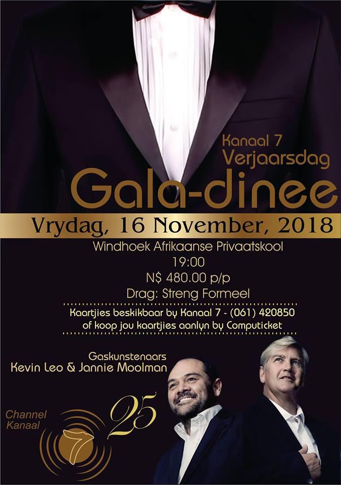 Kanaal 7 Gala Dinner