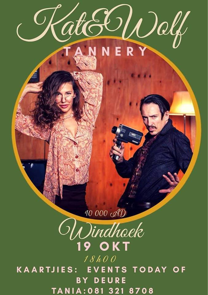 Kat & Wolf at the Tannery