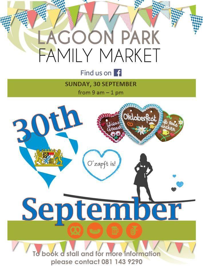 Lagoon Park Family Market - Theme Oktoberfest!