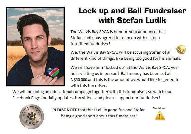 Lock up and Bail Fundraiser with Stefan Ludik
