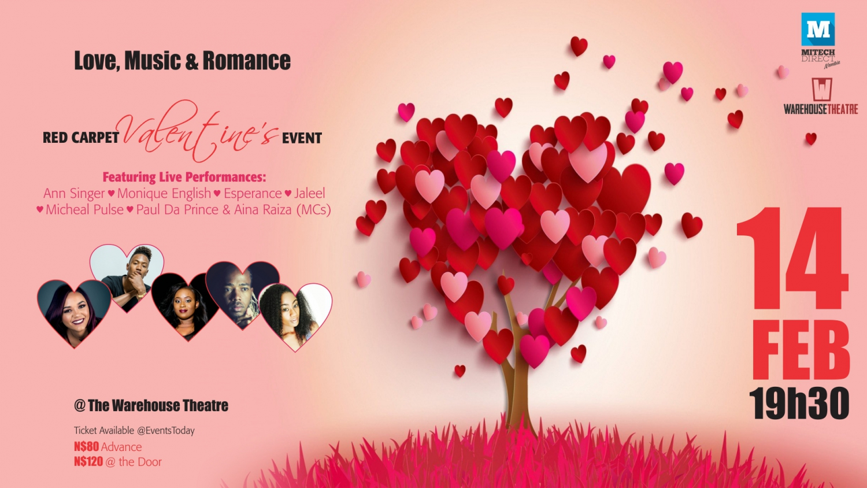 Love, Music & Romance Red Carpet Valentine's Event