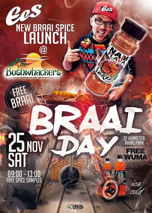 NAM FLAVA Braai Spice Launch 'Braai Day'