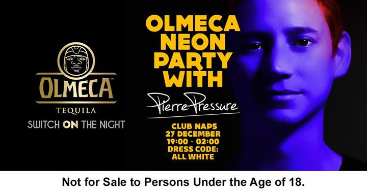 Olmeca Tequila Neon Party with DJ Pierre Pressure