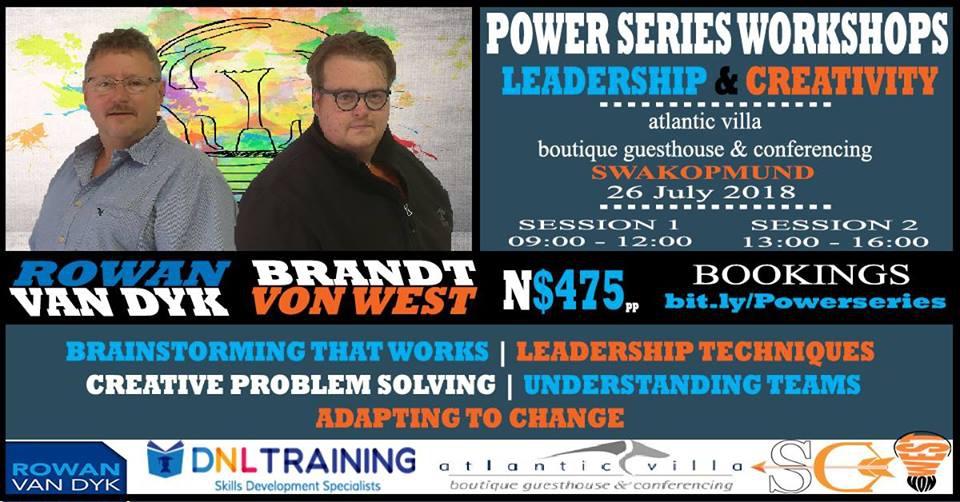 Power Series: Leadership & Creativity Workshop