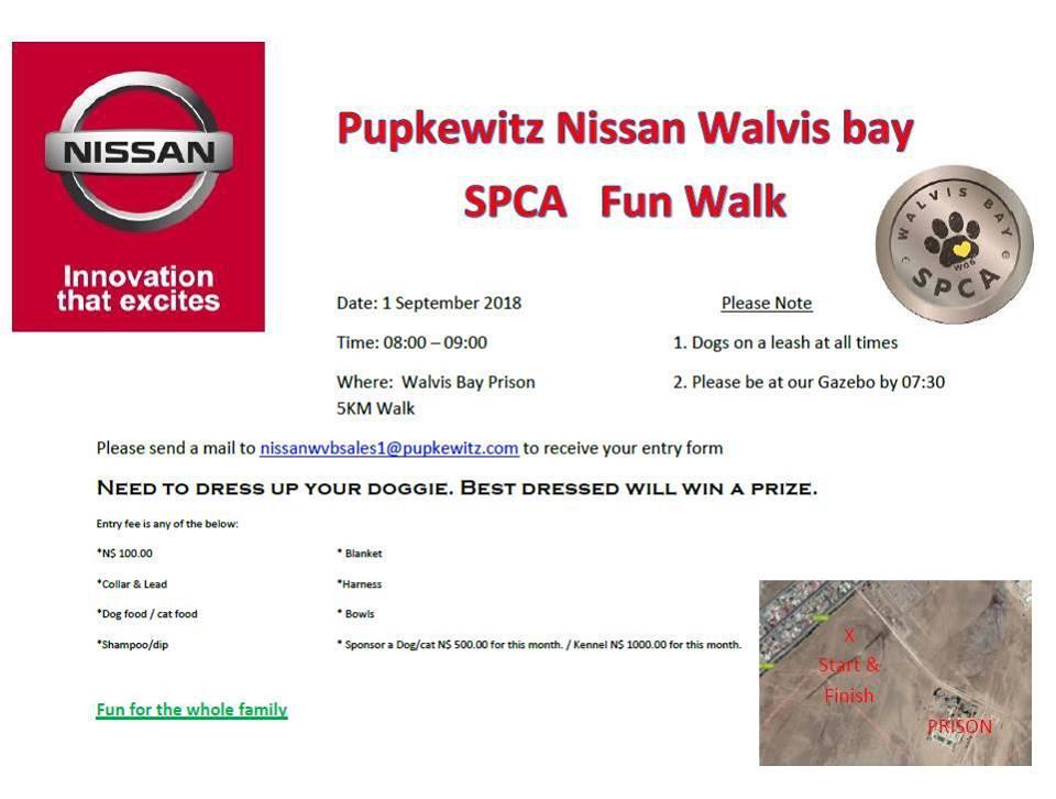 Pupkewitz Nissan Walvis Bay SPCA Fun Walk