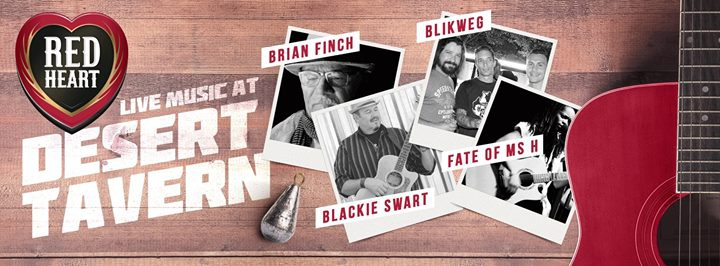 Red Heart presents RED Hot Nights at Desert Tavern