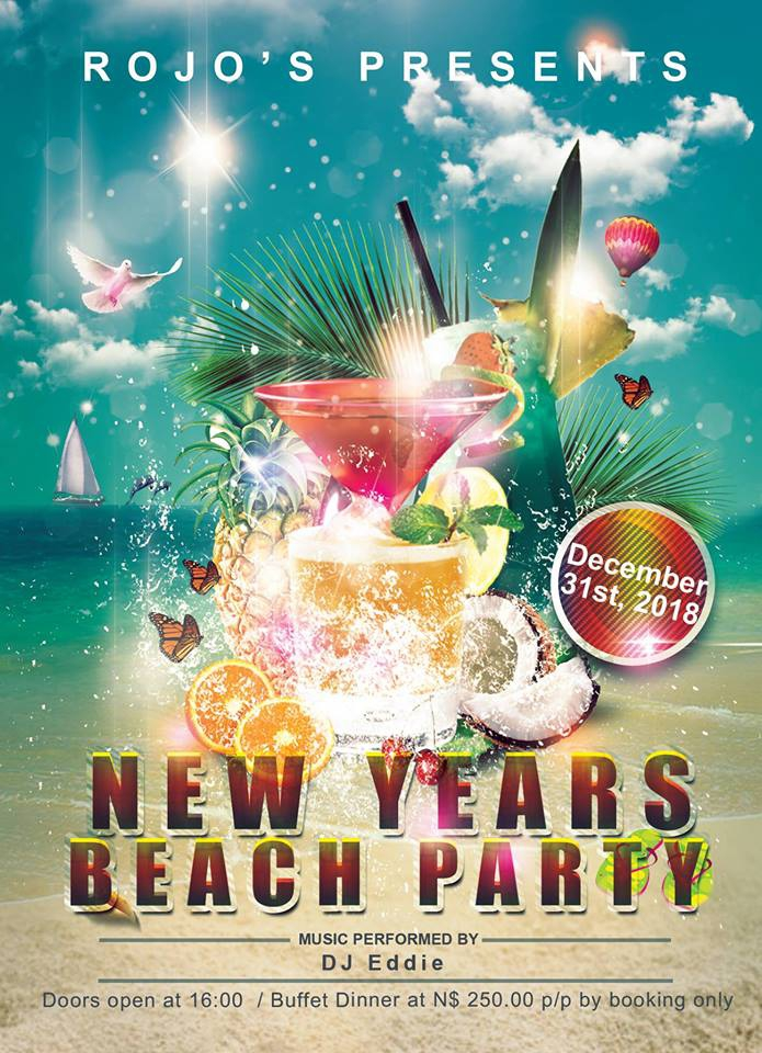 Rojo New Years Beach Party