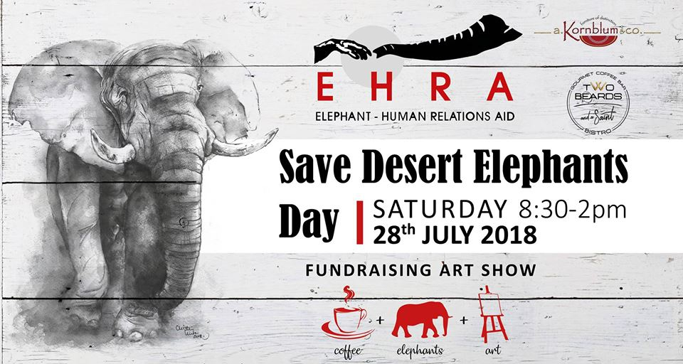 Save Desert Elephants Day (Art Show)