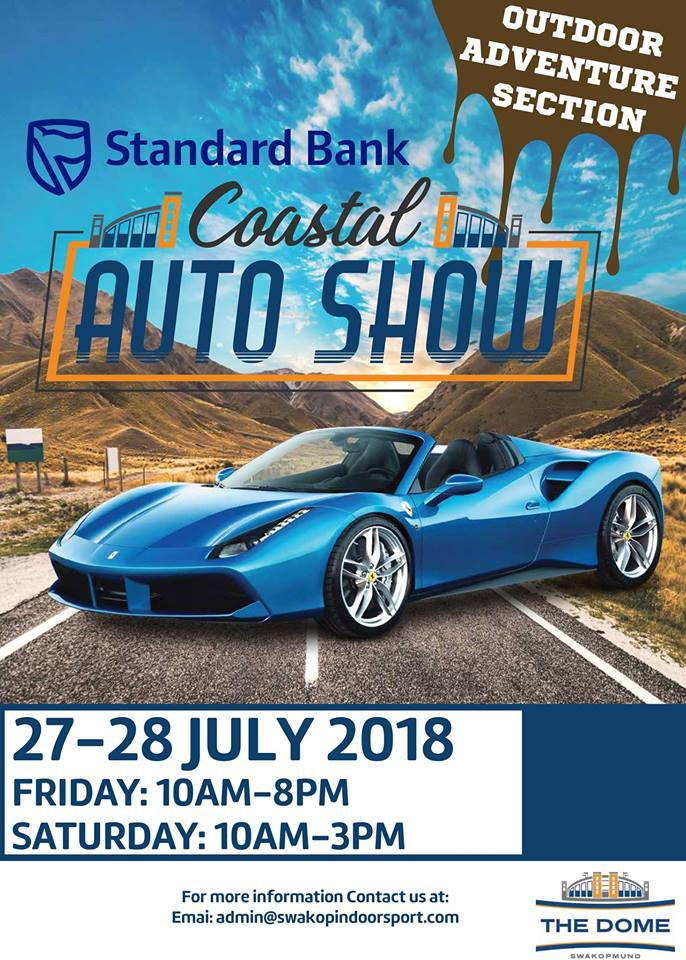 Car Expo Standsaur : Standard bank coastal auto show my guide namibia