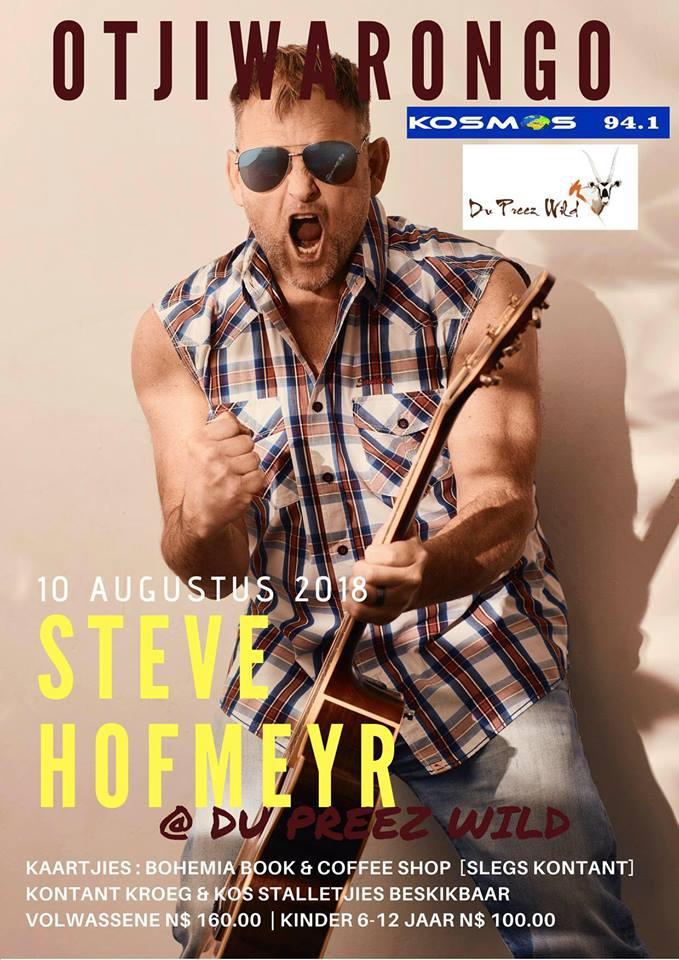 Steve Hofmeyr - Otjiwarongo