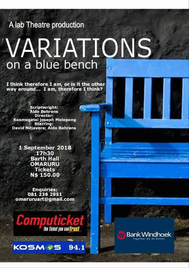 Variations on a blue bench
