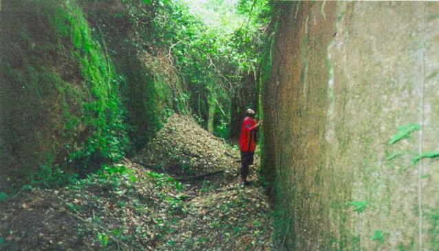 Tourism in Nigeria. The Sungbo Eredo ditch in Ijebu which is believed to have been built by Bilikisu Sungbo thousand of years ago is Africa's biggest man-made built ditch from the pre-colonial era.