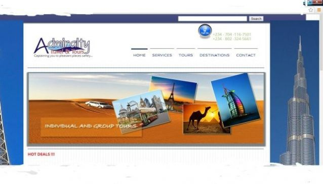 Admiralty Travel and Tours