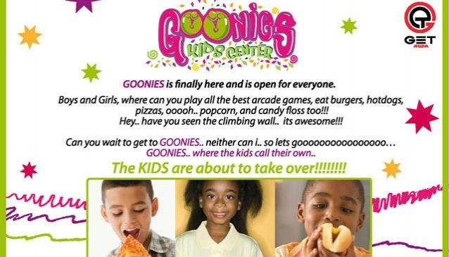 Goonies Kids Center