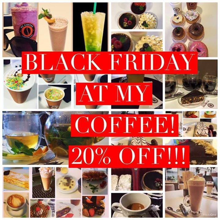 Black Friday at My Coffee Lagos