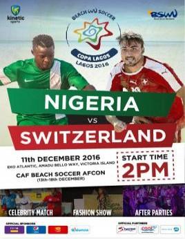 COPA LAGOS 2016 Beach Soccer