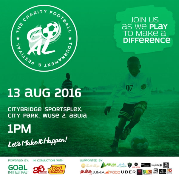 Goal '16 Charity Football Fiesta