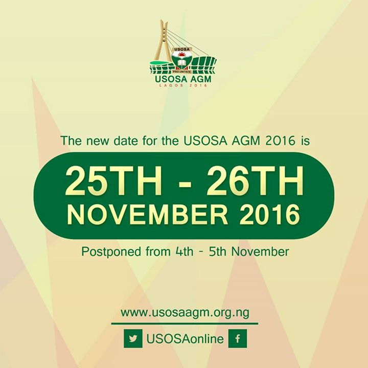 USOSA Annual General Meeting 2016