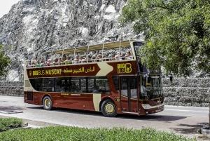 Big Bus Muscat: Classic and Premium Hop-On Hop-Off Tour