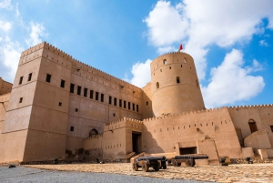 From Muscat: Green Mountain & Jebel Al Akhdar Day Tour