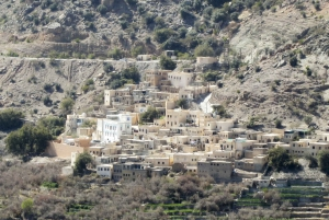 From Muscat: Jebel Akhdar the Green Mountain Tour
