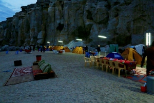 From Muscat: Overnight Beach Camping and Kayaking w/Pickup