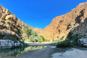 From Muscat: Wadi Shab & Bimmah Sinkhole Full-Day Tour