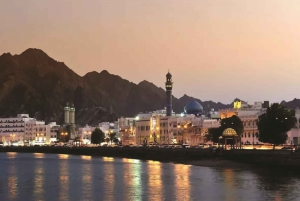 Muscat by Night with Local Dinner from Muscat