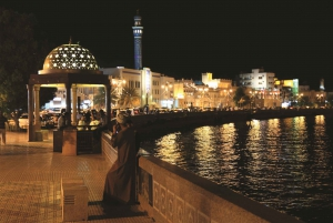 Muscat: Night Tour with Dinner at Bustan Palace