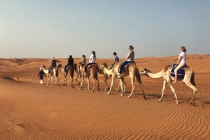 Muscat: Sunset Desert Safari with Overnight Camping