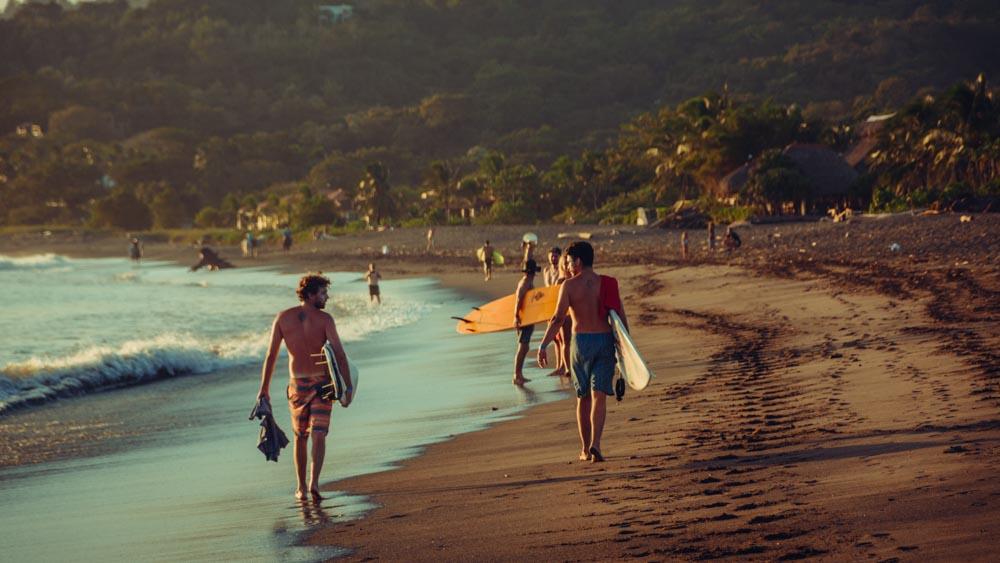 Beach break surf camp