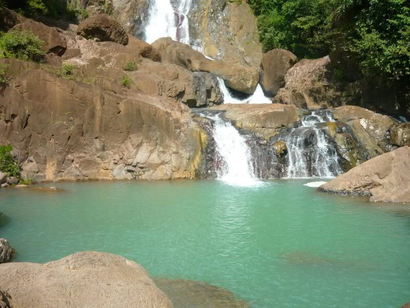 Chorros de Ola waterfall
