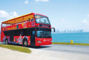 Panama City: Hop-On Hop-Off Sightseeing Bus