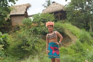 Panama City: Panama Canal Eco Cruise and Embera Village Tour