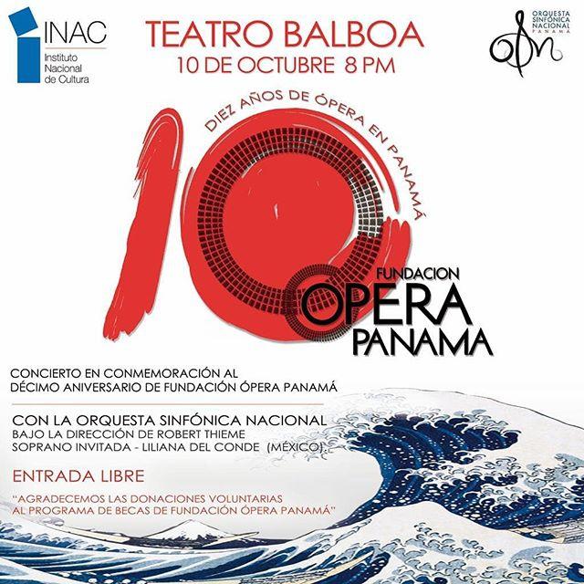 10 AÑOS DE OPERA EN PANAMA