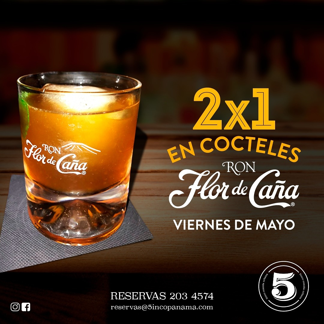 2x1 in Rum Cocktails