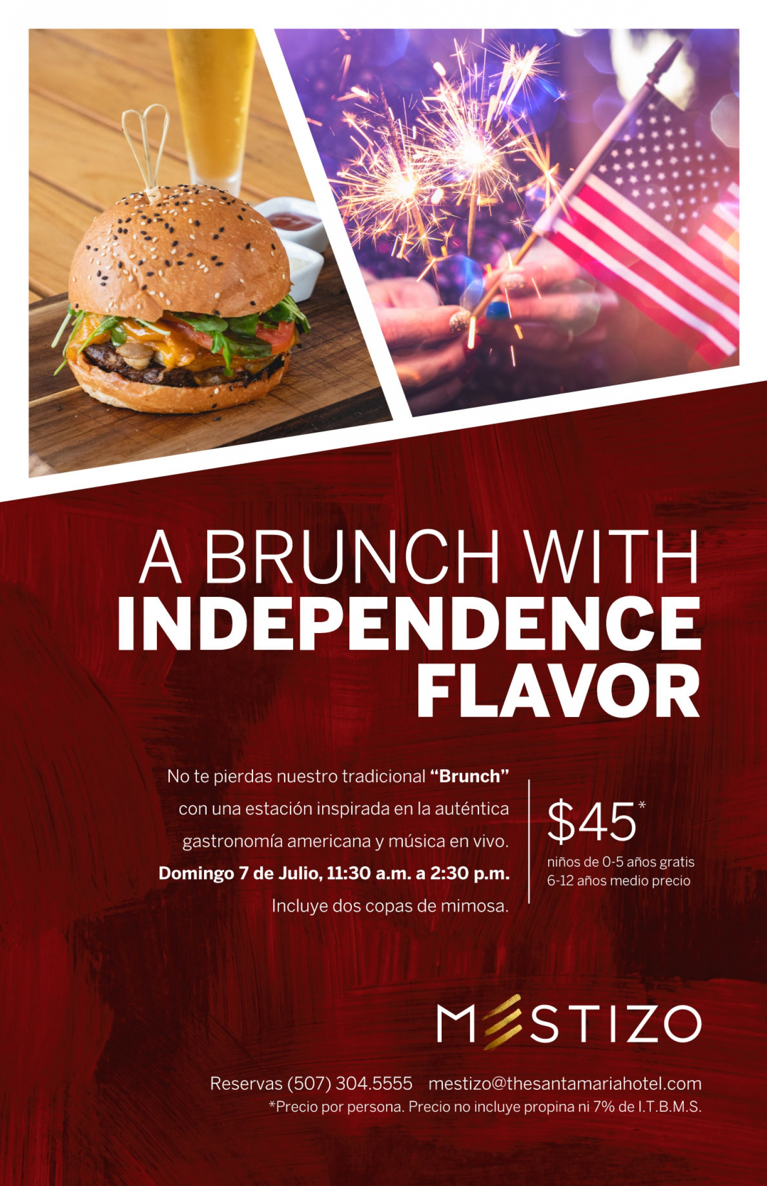 A Brunch With Independence Flavor