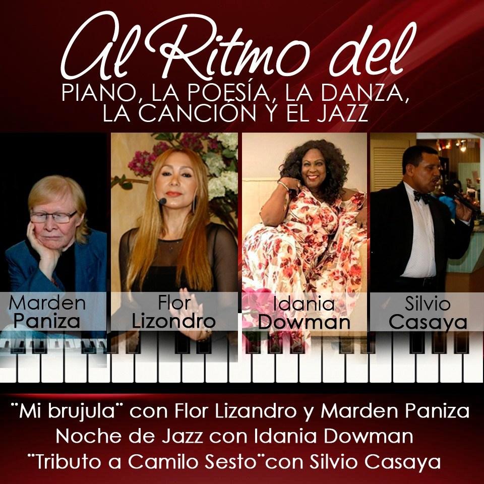 AL RITMO DEL PIANO, LA POESIA, LA DANZA, LA CANCIÓN Y EL JAZZ.