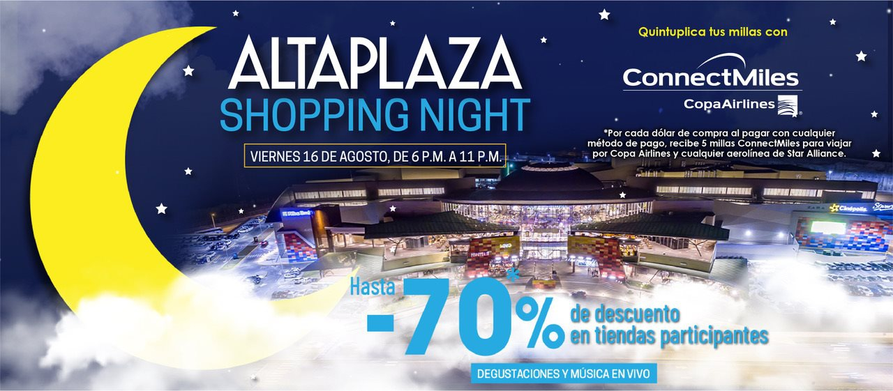 AltaPlazaShoppingNight returns