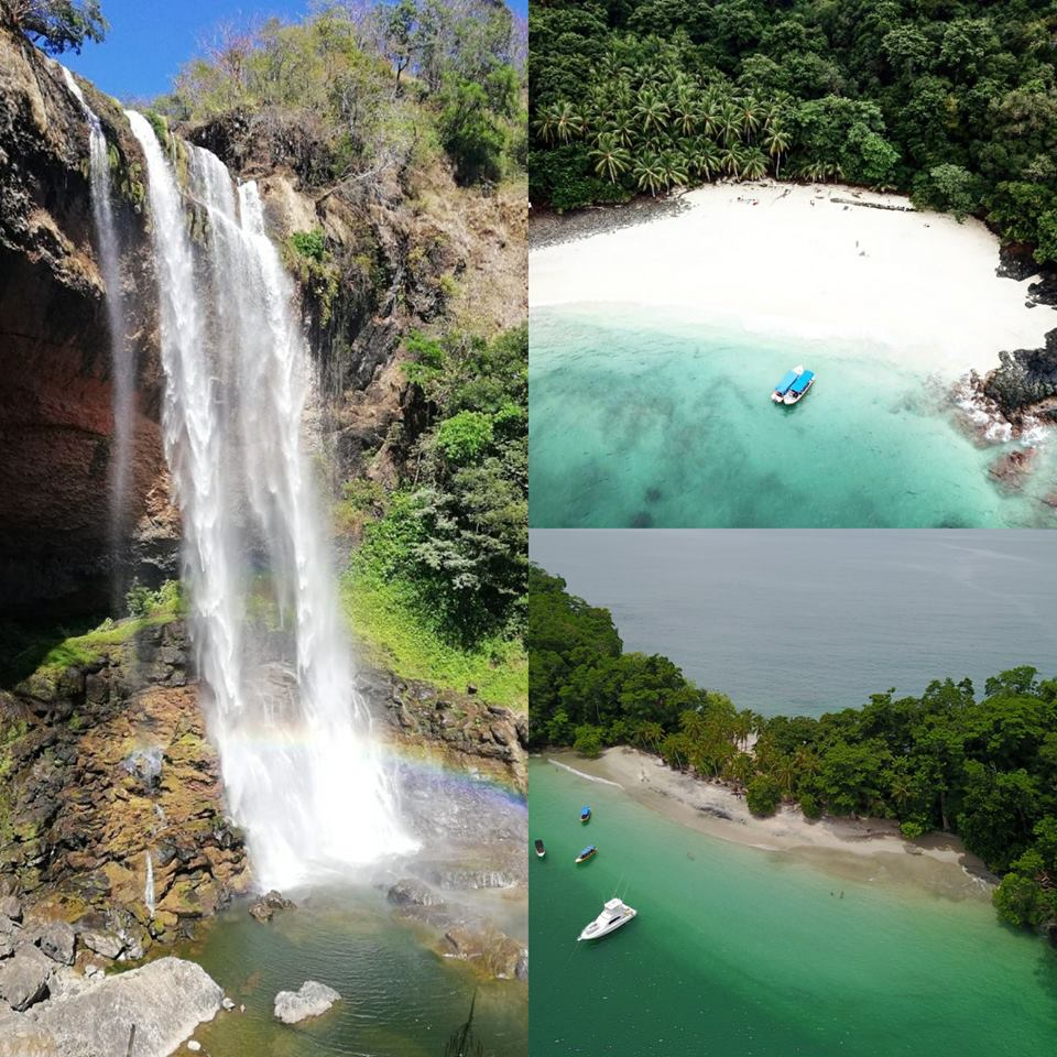 Archipelago of the Paridas and Kiki Waterfall Tour