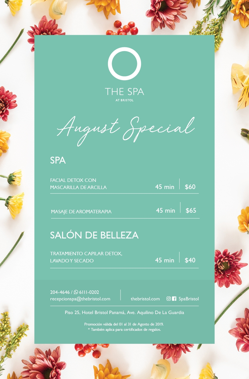 August Spa Special